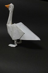 goose (paper folding artist redpaper) Tags: paper origami goose folding