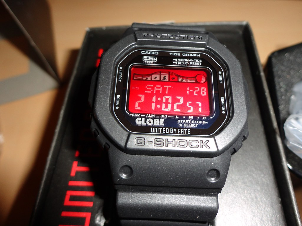 how to set time on casio g shock wr20bar