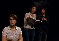 mostra1 (Escena Erasmus European Theatre Project) Tags: show mostra street teatro erasmus theatre scene actress actor drama muestra teatre personaje escena espectculo actriz actuacin