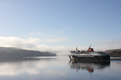 Caledonian MacBrayne Ferry, Oban 2 (mike_mcgrail) Tags: winter scenery argyll oban caledonian macbrayne