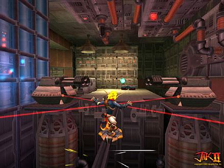 Jak II screenshot 4