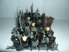 LOTR - Orcs: Army of Sauron (G g) Tags: black soldier army gate destruction banner evil equipment lotr armor soldiers lordoftherings armory orc sauron mordor ork orcs blackgate uruk armies morgoth lordsauron armyofmordor legolordoftherings legolotr lotrlego buildmeanarmyworthyofmordor mordororc sauronarmy armyofsauron