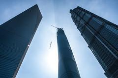 Lujiazui - Image 143 (www.bazpics.com) Tags: china city tower glass skyscraper shanghai centre area tall pudong financial jinmao lujiazui swfc