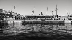 Quayside Stroll (Emma Moring) Tags: city sweden stockholm quay sverige vatten kaj strandvgen