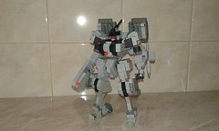 Gray Fox front (frameworks6) Tags: robot military mecha mech