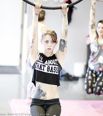 at Polecats Aerial fitness in Las vegas (Darrell Craig Harris - Instagram: GettyContributor) Tags: portrait woman girl tattoo ink canon lasvegas stock workout fitness gym inked 500px