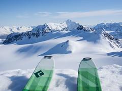 Lyngen views (Kaspartheater) Tags: winter snow ski mountains norway norge skins olympus skitour troms lyngen lyngenalps