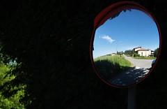 blue (Flavio Calcagnini) Tags: street blue trees italy cloud primavera alberi landscape casa spring strada italia nuvola blu hills cielo po flavio azzurro paesaggio collina specchio pavia pavese oltrepo oltre bosnasco calcagnini zenevredo