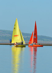 Oranges and Lemons (Barry MacDonald 52) Tags: lake west race kirby marine sailing trophy dinghy wilso