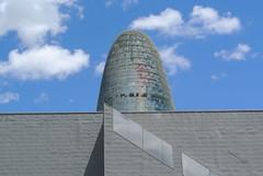 Barcelona, Torre Agbar II (txicharra) Tags: architechture arquitectura spain barcelona