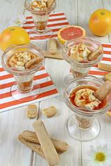 VERRINES DE POMELO Y CREMA DE MASCARPONE (by Ana M Espada) Tags: food dessert citrus recipes dulce pomelo ladyfingers recetas reposteria ctricos mascarponemousse cookthecake