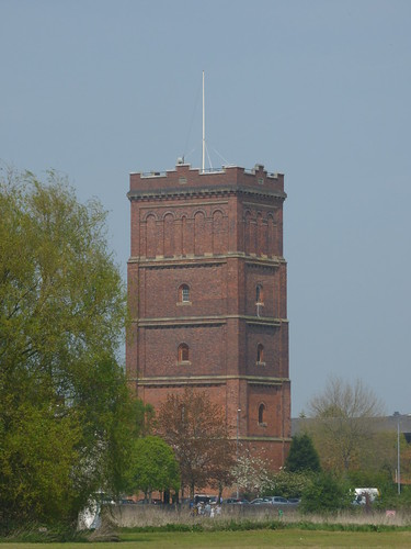 The Washlands - Burton upon Trent - Water Tower