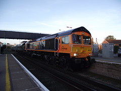 66748 (TheRailwayMaster) Tags: swanage wareham 31162 40013 46045 50035 gbrf 66748