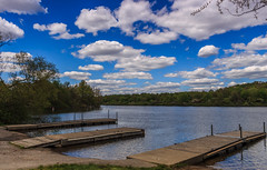 3 Piers (david_sharo) Tags: lake water landscape scenic moraine neutraldensityfilter davidsharo