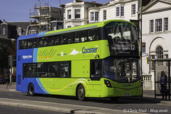 Brighton & Hove 941 'Eric Ravilious' 01.05.2016 (CNThings) Tags: bus sussex mercedes nikon brighton hove wright coaster chrisneal 941 streetdeck d7100 ericravilious brightonbus cnthings bx15ont