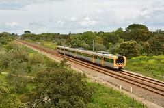 R 4510 - Vila Nova (valeriodossantos) Tags: portugal train cp regional vilanova tomar comboio passageiros caminhosdeferro linhadonorte ute2240 cpregional automotoraeltrica unidadetriplaeltrica