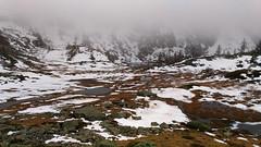 Spring on the Alps (supersky77) Tags: mist snow alps primavera rain fog alpes spring neve alpen nebbia alpi pioggia aosta wetland valledaosta fontainemore torbiera disgelo laclong valleedaoste montmars