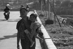 L9991662bw (ferry160102) Tags: street morning bw locals waduk pluit