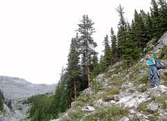 20090911_Ryan_in_Banff_0003.jpg (Ryan and Shannon Gutenkunst) Tags: canada hiking hike alberta banff mountrundle emiliahuertasanchez