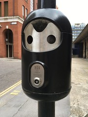 Astronaut fella (Phil Gyford) Tags: uk london bin cityoflondon