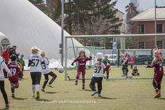 1604_FOOTBALL-29 (JP Korpi-Vartiainen) Tags: game girl sport finland football spring soccer hobby teenager april kuopio peli kevt jalkapallo tytt urheilu huhtikuu nuoret harjoitus pelata juniori nuori teini nuoriso pohjoissavo jalkapalloilija nappulajalkapalloilija younghararstus