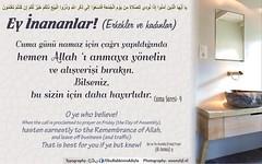 Hayrl Cumalar (Oku Rabbinin Adiyla) Tags: god muslim islam religion east bible rahman friday allah quran verse cuma kuran ayet jumua