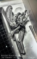 ALIEN-298 (sith_fire30) Tags: sculpture building art scott miniature big model allen action alien aves ripley shuttle figure beast custom dayton diorama giger narcissus chap hrgiger prometheus sculpt styrene ridley xenomorph nostromo fixit sithfire30 covneant