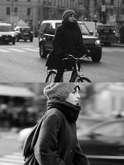 [La Mia Citt][Pedala] (Urca) Tags: portrait blackandwhite bw bike bicycle italia milano bn ciclista biancoenero mir bicicletta 2015 pedalare dittico 83929 nikondigitale ritrattostradale