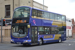 First Eastern Counties 37573 AU58ECX (Will Swain) Tags: great yarmouth 14th may 2016 bus buses transport travel uk britain vehicle vehicles county country england english south east norfolk town first eastern counties 37573 au58ecx