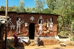 Falasha village.Woléka. North Ethiopia (courregesg) Tags: africa house art village jerusalem ethiopia poterie afrique vestige juif ethiopie falasha betaisrael woleka