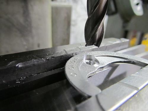 countersinking Porta bolt