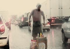 Trabalho. (Andr L. Santana) Tags: poverty brazil brasil garbage sopaulo poor misery pobre lixo pobreza misria