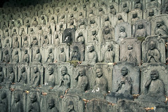 Statues, Buddhist temple,Tokyo,Japan (flaminghead Park) Tags: statue japan horizontal outdoors temple photography tokyo day order buddha tranquility buddhism nopeople repetition spirituality japaneseculture inarow artandcraft traveldestinations colorimage largegroupofobjects flaminghead malelikeness humanrepresentation