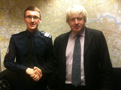 Grant and Boris Johnson, Mayor of London taken over