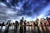 Dramatic Sky above Midtown, Manhattan (Yohsuke_NIKON_Japan) Tags: nyc sky usa cloud newyork clouds nikon manhattan sigma midtown unitednations eastriver 雲 rooseveltisland hdr アメリカ 10mm ニューヨーク photomatix colorefex ミッドタウン マンハッタン イーストリバー trumpworldplaza d3100 ルーズベルト島 国連ビル