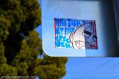 BROKE sticker - Berkeley, CA (EndlessCanvas.com) Tags: streetart graffiti berkeley sticker broke ptv