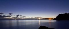 Jenny Dixon view to Norah Head. (archie0) Tags: longexposure reflections silhouettes startrails norahhead jennydixonbeach