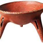 "<b>Spider-leg Tripod Redware Bowl</b><br/> ""Spider-leg Tripod Redware Bowl"" Ceramics,300 BCE - 200 CE LFAC #910<a href=""http://farm8.static.flickr.com/7019/6466197707_41351784ae_o.jpg"" title=""High res"">∝</a>"