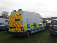 Merseyside Police Vauxhall Movano Equipment Van (ModellerRob's ESV Photos (One)) Tags: show park echo equipment van emergency warwickshire services e2 stoneleigh 2011 movano pa04czu