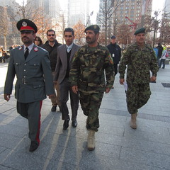 Major General Mullah Khil & Major General Sayed Malouk (SHOTbySUSAN) Tags: nyc ny afghanistan manhattan worldtradecenter twintowers gothamist groundzero worldtradecentermemorial newyork newyorkcity shotbysusan afghanistanmilitary onlyinnewyork mullahkhil sayedmalouk