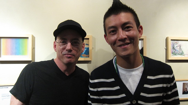 Ed w/EDISON CHEN at The Japan Society