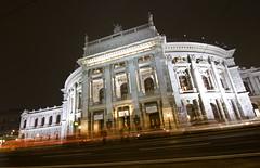 Burgtheater, Wien (&li) Tags: vienna wien city longexposure geotagged austria sterreich hofburg 2011 burgtheater lungaesposizione
