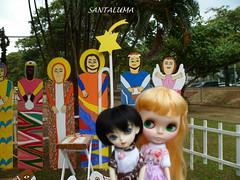 Swian e Ivy com o Presépio Natal de Jesus!!
