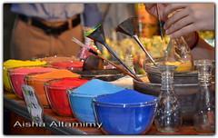 Art with Sand (Aisha Altamimy) Tags: art colors fun glasses sand dubai box crafts arts craft sandart دبي الوان رمل ألوان تراب