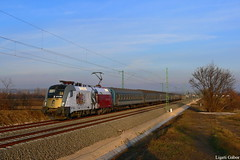 470 501, 13.12.2011, Trnok (Spagiboy) Tags: railroad color colors clouds train landscape hungary siemens rail railway locomotive taurus sissi lokomotive magyarorszg mv vonat vast werbelok mozdony gysev trnok gyors gyorsvonat