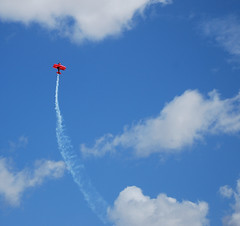 Air Show Downunder (phunnyfotos) Tags: red sky clouds plane airplane nikon skies aircraft airplanes australia victoria airshow planes vic runway 2009 avalon biplane d60 avalonairshow nikond60 airshowdownunder phunnyfotos