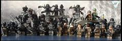 Killzone sitting (ORRANGE.) Tags: fun amazing arms lego pedro ama soldiers armory isa orrange customs helghast killzone stahl brickarms pecovam