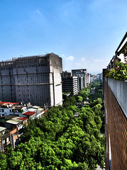 Sustainable City (William J H Leonard) Tags: china road city trees building architecture asian roc asia day cityscape chinese taiwan clear taipei formosa hdr highdynamicrange taiwanese zhongshan sustainabledevelopment ecocity republicofchina earthasia regionwide zhongshanraod