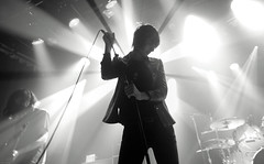The Horrors (Brian Krijgsman) Tags: blackandwhite bw music holland netherlands amsterdam photography concert nikon fotografie live band gigs theband melkweg horrors 2011 thehorrors iso12800 oudezaal d3s briankrijgsman nikond3s lastfm:event=1986137