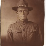 Studio portrait of a young soldier in uniform thumbnail